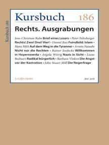 Kursbuch 186: Rechts. Ausgrabungen