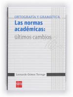 Las normas académicas
