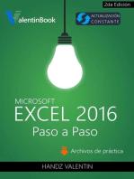 Excel 2016 Paso a Paso