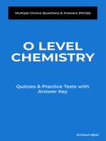 O Level Chemistry MCQs