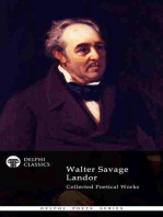 Delphi Collected Poetical Works of Walter Savage Landor (Illustrated)