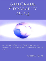 6th Grade Geography MCQs: Multiple Choice Questions and Answers (Quiz & Tests with Answer Keys)