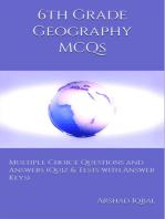 6th Grade Geography MCQs