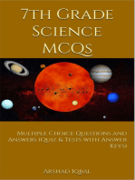 7th Grade Science MCQs