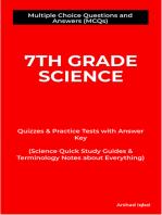 7th Grade Science MCQs