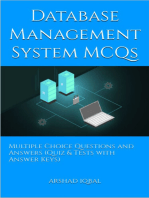 Database Management System MCQs
