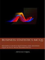 Business Statistics MCQs