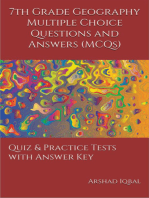 7th Grade Geography Multiple Choice Questions and Answers (MCQs): Quizzes & Practice Tests with Answer Key (Grade 7 Geography Worksheets & Quick Study Guide)
