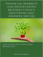Financial Markets and Institutions MCQs