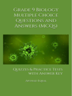 Grade 9 Biology Multiple Choice Questions and Answers (MCQs)