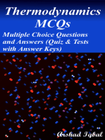 Thermodynamics MCQs: Multiple Choice Questions and Answers (Quiz & Tests with Answer Keys)