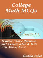 College Math MCQs