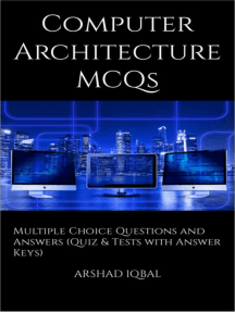 Computer Architecture Multiple Choice Questions and Answers (MCQs): Quizzes & Practice Tests with Answer Key (Computer Architecture Quick Study Guide & Course Review)