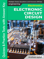 Electronic Circuit Design Multiple Choice Questions and Answers (MCQs)