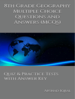 8th Grade Geography Multiple Choice Questions and Answers (MCQs): Quizzes & Practice Tests with Answer Key (Grade 8 Geography Worksheets & Quick Study Guide)