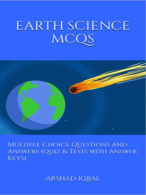 Earth Science MCQs: Multiple Choice Questions and Answers (Quiz & Tests  with Answer Keys) by Arshad Iqbal - Book - Read Online