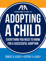 The ABA Consumer Guide to Adopting a Child
