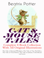 CAT & MOUSE TALES – Complete 8 Book Collection With All Original Illustrations