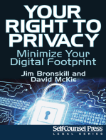 Your Right To Privacy