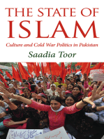 The State of Islam: Culture and Cold War Politics in Pakistan