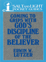 Coming to Grips with God's Discipline of the Believer