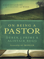 On Being a Pastor