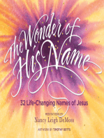 The Wonder of His Name
