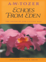 Echoes from Eden