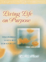 Living Life on Purpose