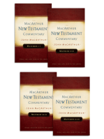 Matthew 1-28 MacArthur New Testament Commentary Four Volume Set