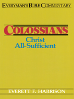 Colossians- Everyman's Bible Commentary