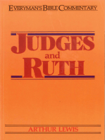 Judges & Ruth- Everyman's Bible Commentary