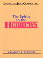Hebrews- Everyman's Bible Commentary