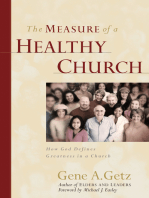 The Measure of a Healthy Church