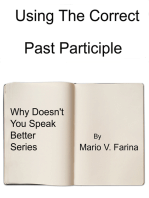 Using The Correct Past Participle