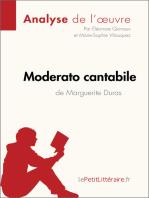 Moderato cantabile de Marguerite Duras (Analyse de l'œuvre)