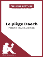 Le piège Daech de Pierre-Jean Luizard (Fiche de lecture)