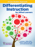 Differentiating Instruction for Gifted Learners