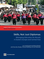 Skills, not just Diplomas: Managing Education for Results in Eastern Europe and Central Asia