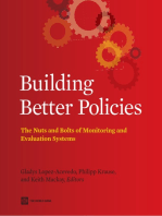 Building Better Policies: The Nuts and Bolts of Monitoring and Evaluation Systems