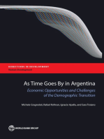 As Time Goes By in Argentina: Economic Opportunities and Challenges of the Demographic Transition