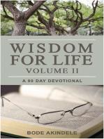 Wisdom for Life Vol. 2