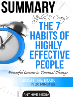 Steven R. Covey's The 7 Habits of Highly Effective People