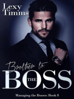 Brother to the Boss: Managing the Bosses Series, #8