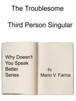 The Third Person Singular