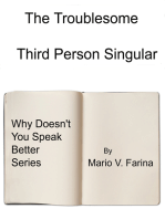 The Third Person Singular