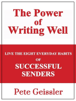 Live the Eight Everyday Habits of Successful Senders