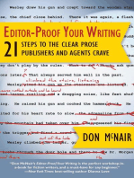 Editor-Proof Your Writing