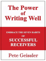 Embrace the Seven Habits of Successful Recievers