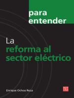 La reforma al sector eléctrico